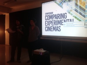 Symposium Comparing Experimental Cinemas