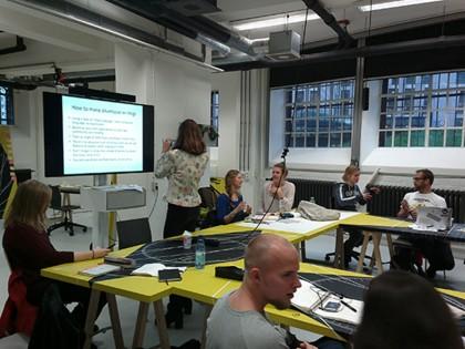 akumassa presentation at Willem de Kooning Academy