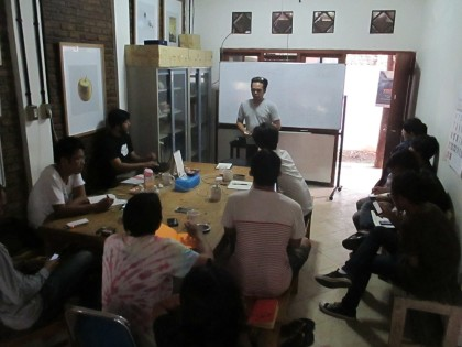 Diskusi Bersama Yudi Ahmad Tajudin
